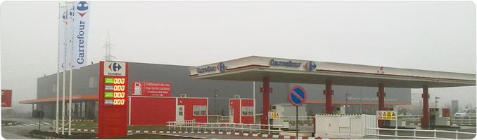 Servicii benzinaria Carrefour