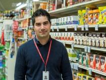 Manager supermarket