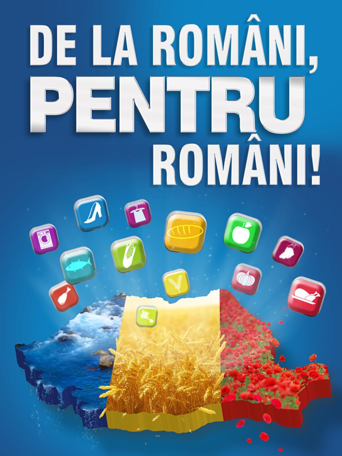 """Carrefour sustine si promoveaza produsele fabricate in Romania prin campania """"De la Români, pentru români!"""""""