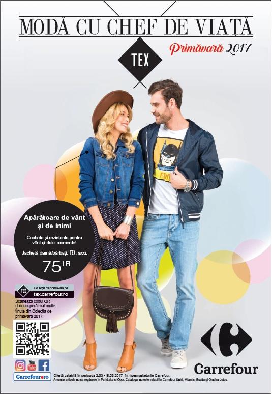 Noua colecție de primavară TEX prinde #chefdeviață, exclusiv la Carrefour!