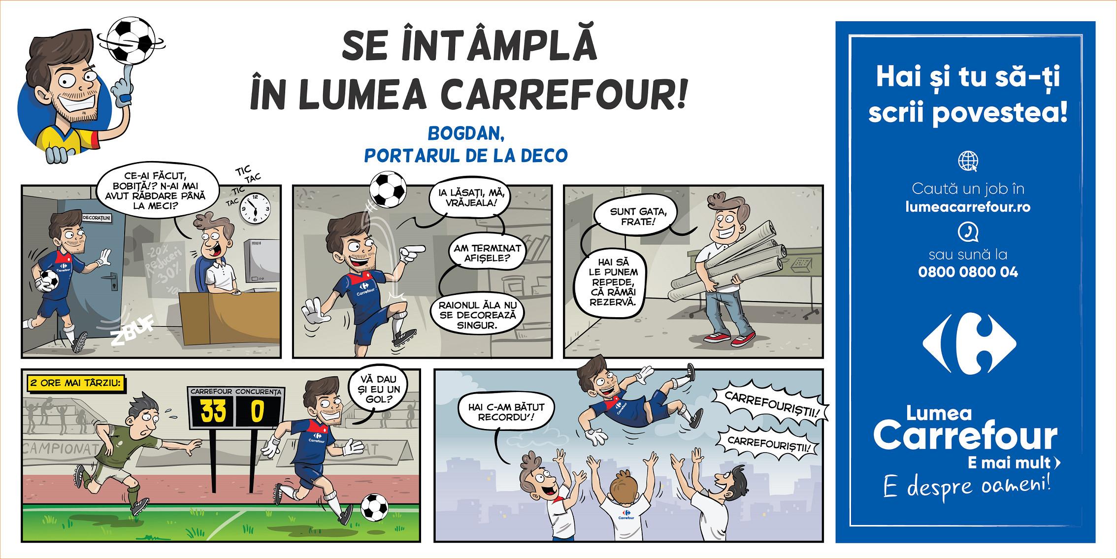 Lumea Carrefour e mai mult. E despre oameni! Carrefour România lansează o nouă campanie de brand de angajator