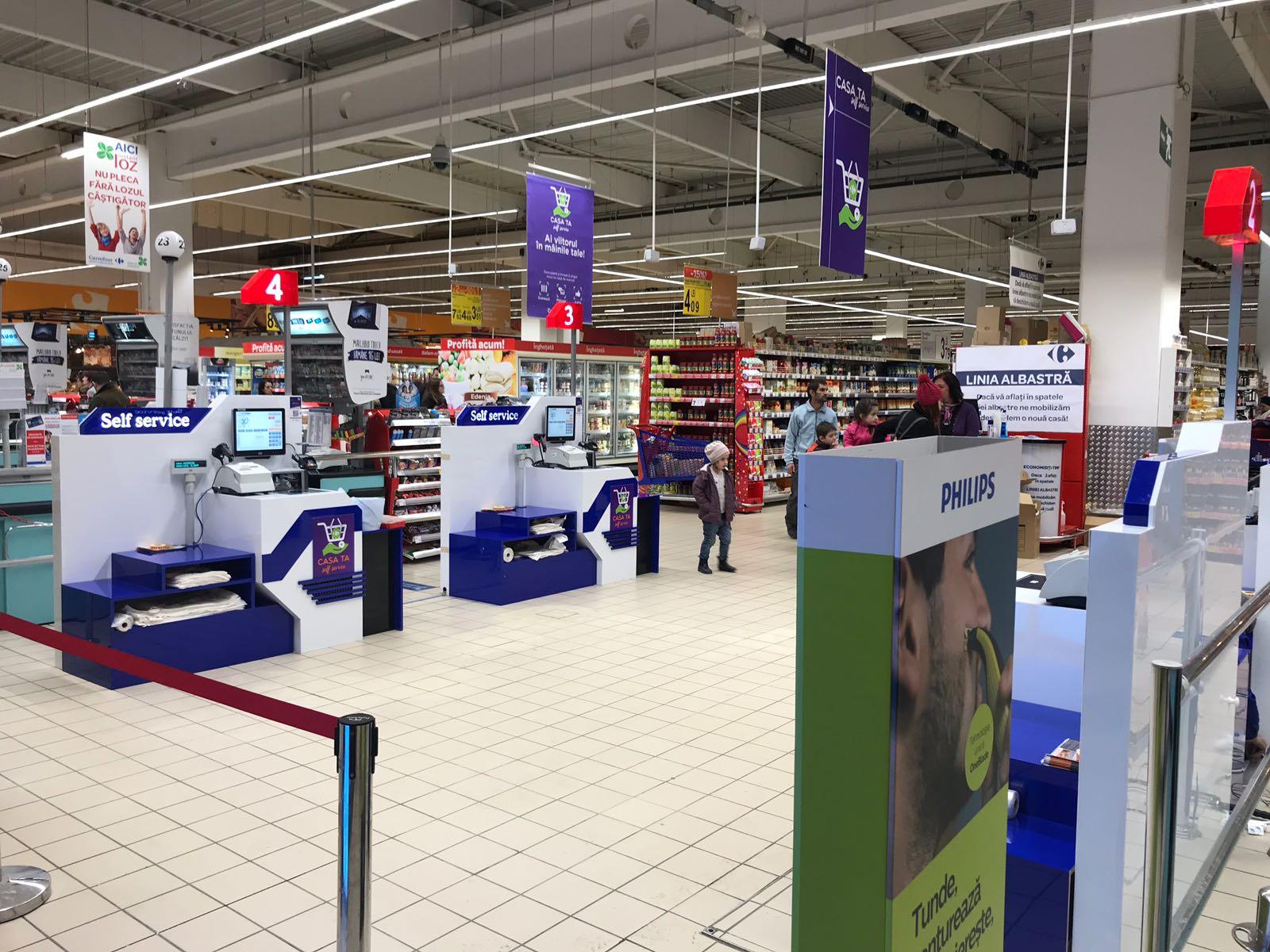 """Carrefour extinde serviciul """"Casa ta – Self Service""""  O modalitate accesibilă de scanare și plată, în alte 3 unități din rețeaua națională a grupului"""
