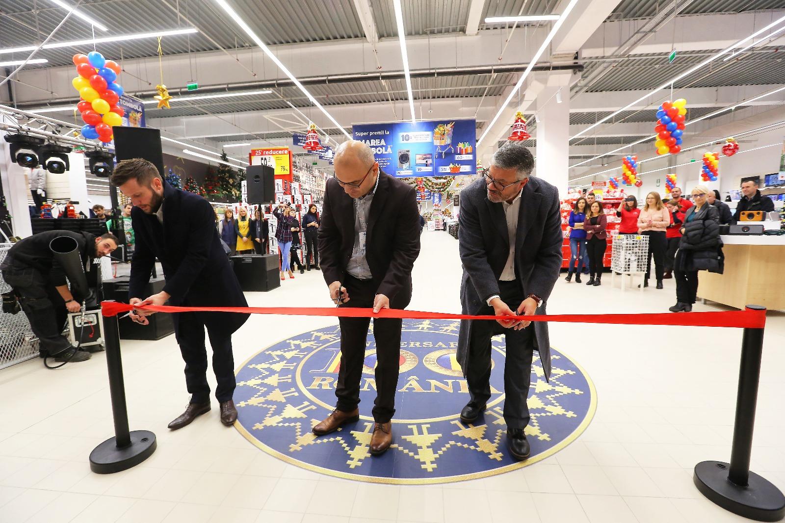 Carrefour inaugurează cel mai mare hipermarket din Satu Mare, în noul centru comercial Shopping City Satu Mare