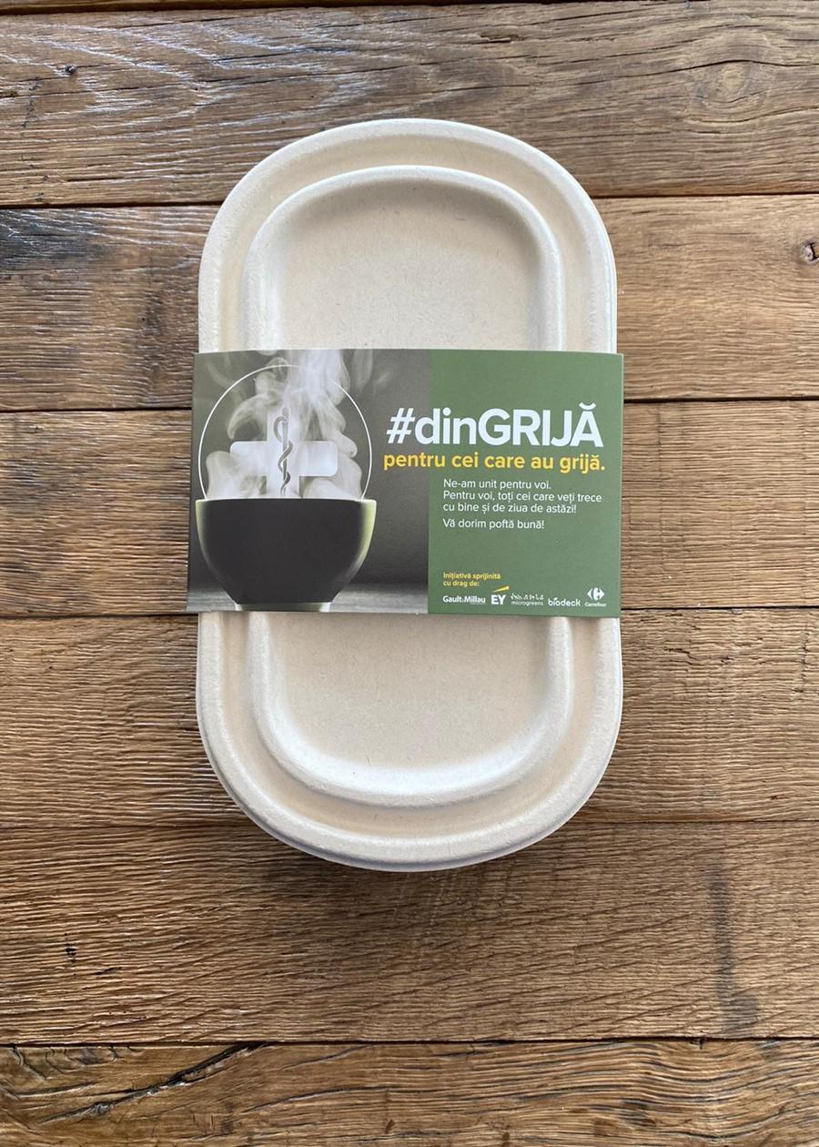 #dinGRIJĂ pentru cei care au grijă: Grija, ingredientul principal al unui proiect prin care echipa medicală din Spitalul Colentina din capitală va primi zilnic meniuri calde