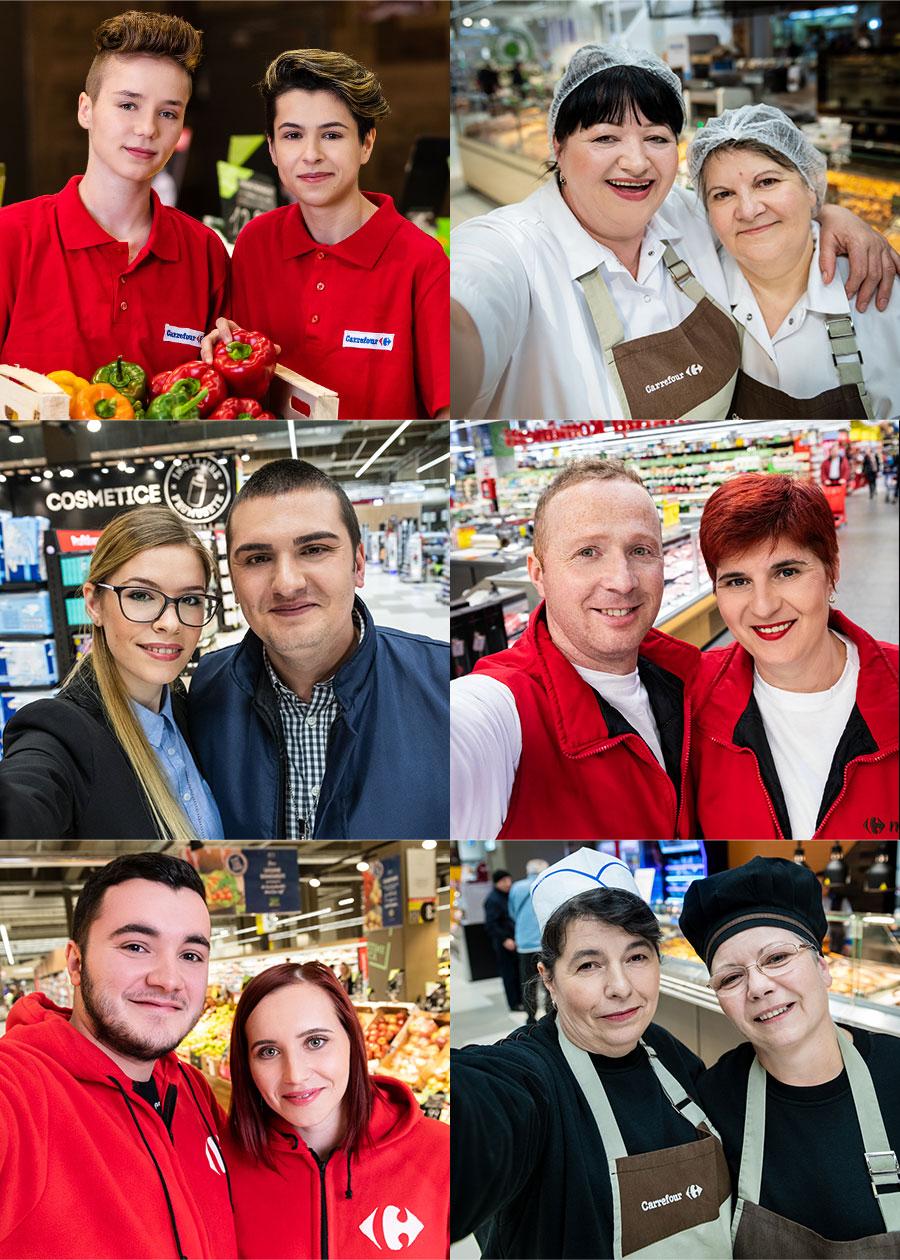 Extrabeneficii pentru siguranța angajaților Carrefour