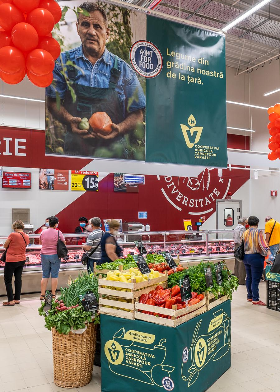 Carrefour deschide primul hipermarket din Târgoviște  și aduce opțiuni multiple de cumpărare, online și offline