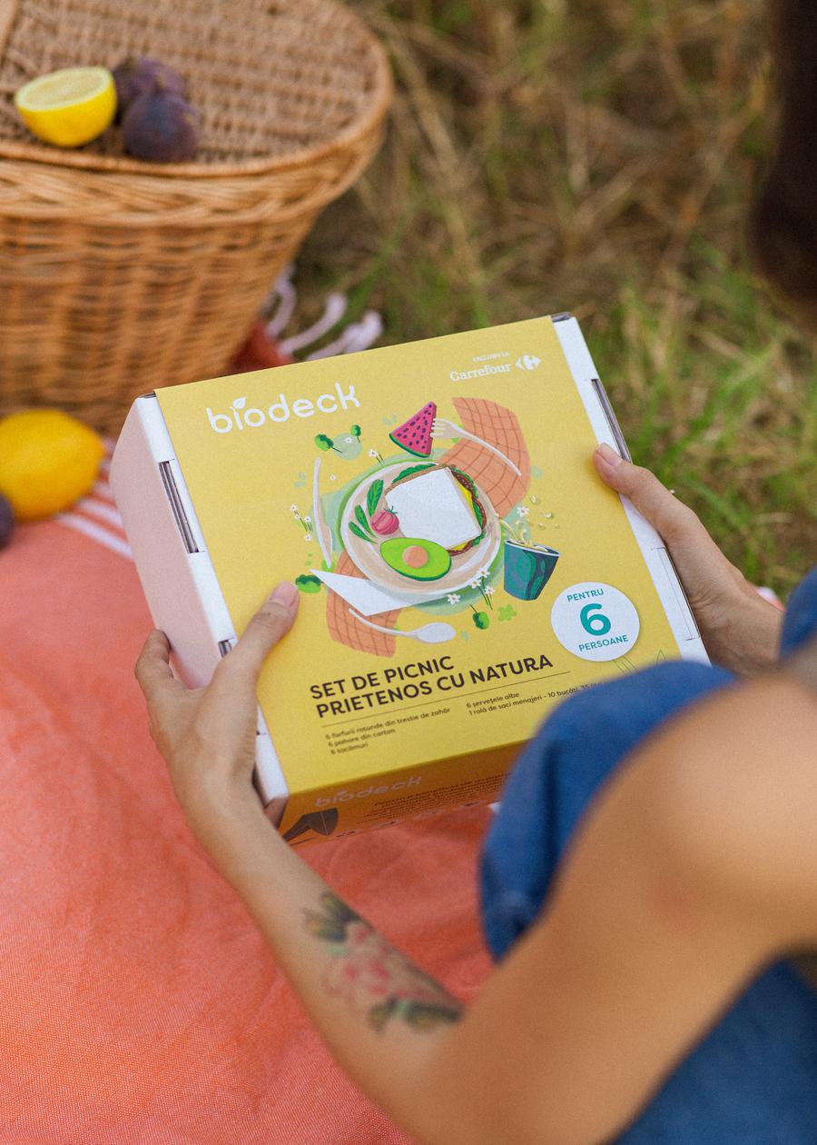 Biodeck și Carrefour lansează o ediție limitată de seturi de picnic