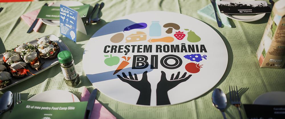 """Carrefour lansează """"Împreună Creștem România BIO"""" și invită sibienii la un show culinar BIO în Piața Mică din Sibiu"""