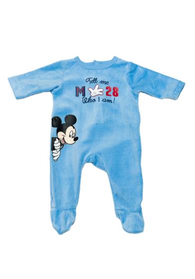 Carrefour Romania   Salopetă noapte bebe Mickey 3 36 luni - Pijamale si  salopete baieti - Lenjerie baieti - Bebelusi - TEX 1f74291aba3b