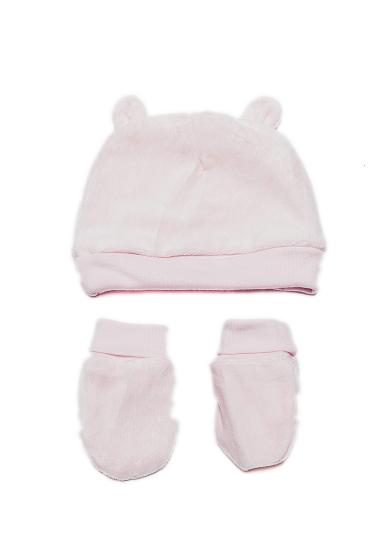 e8290875b67b Carrefour Romania   Set căciulă și mânuși bebe 0 6 luni - Caciuli ...