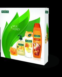 Set cadou Palmolive Naturals Milk & Honey