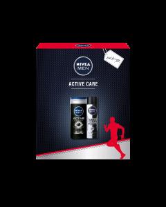 Set cadou Nivea Men Active Clean