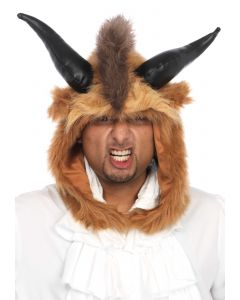 Caciula blana viking cosplay