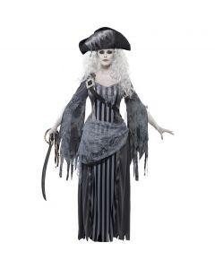 Costum pirat zombie femei   L