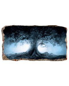 Fototapet 3D Startonight Copacul, luminos in intuneric, 2.20 x 1.20 m
