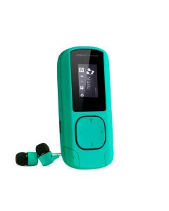 Player MP3 Energy Sistem, S426478, 8 GB, FM, Clip, Verde