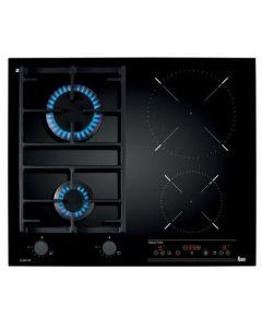 Plita Incorporabila Mixta TEKA IG 620 2G AI AL CI, 4 Zone de Gatit, Touch Control, Gratare Fonta, Black Cristal