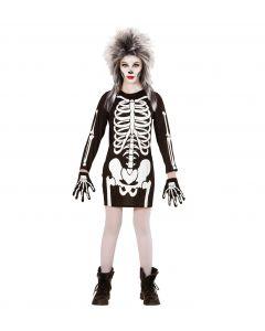 Costum Schelet Rochie Halloween