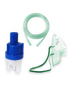 Kit accesorii universale pentru aparatele de aerosoli cu compresor RedLine RDA008, masca adulti, furtun 2 m, kit de nebulizare