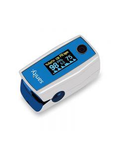 Pulsoximetru Sanity Duo Control, 6 moduri de afisare, indica nivelul de saturatie a oxigenului din sange, masoara rata pulsului