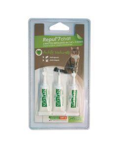 Pipeta antiparazitara Pilou pentru pisici, 3x2 ml