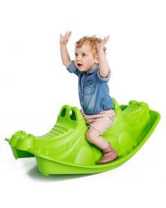 Balansoar pentru copii Crocodile Green