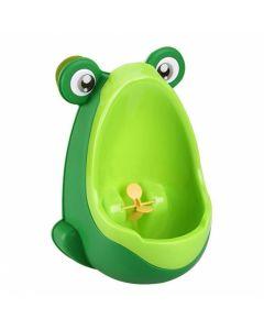 Pisoar baieti Happy Frog Green