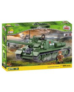 set de construit Cobi, Small Army, Soviet Tanc SU-85 Destroyer (475pcs)