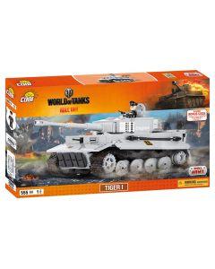 Set De Constructie Cobi, World Of Tanks, Tanc Tiger I (555 piese)