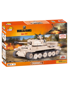 set de constructie Cobi, World of Tanks, Tanc Cromwell (505pcs)
