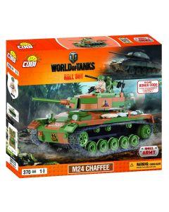 Set Constructie Cobi,World of tanks, Tanc M24 CHAFFEE (370 piese)