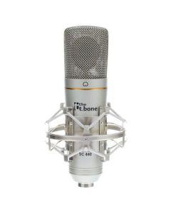 Microfon condensator pentru studio cu interfata USB - t.bone SC 440 USB