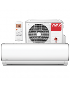 Aer conditionat Vivax ACP-12CH35AEMI M-Design Wi-Fi Ready, Inverter, 12000 BTU/h, Clasa A++, ecran LCD, Pornire silentioasa, Sleep mode, Turbo mode, Timer, Protectie Anti-Inghet, Autocuratare, ECO-Mode