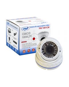 Camera supraveghere video PNI 1001CM lentila varifocala, 1000 TVL 960H pt. interior si exterior IR 30 m
