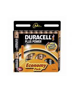 Baterie alcalina Duracell AA sau R6 cod 81483682 blister cu 18bc