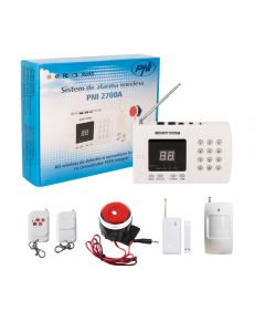 Sistem de alarma wireless PNI 2700A pentru 99 de zone wireless