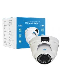 Camera supraveghere video PNI House IP2DOME 1080P cu IP varifocala 2.8 - 12 mm dome interior si exterior