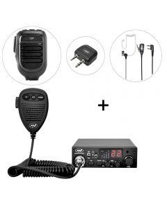 Kit Statie radio CB PNI Escort HP 8001L ASQ + PNI BT-DONGLE 8001 + Microfon cu Bluetooth PNI BT-MIKE 8500