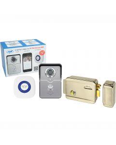 Kit Interfon video cu IP PNI House 900 si Yala electromagnetica SilverCloud YL500 cu butuc