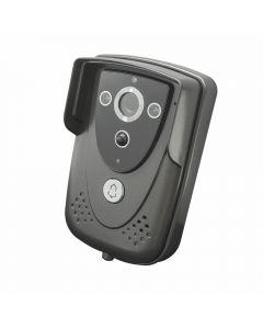 Interfon video cu IP PNI House 930 wireless P2P card si vizualizare pe Smartphone cu Android sau IOS