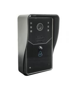 Interfon video cu IP PNI House 910 wireless P2P card si vizualizare pe Smartphone cu Android sau IOS
