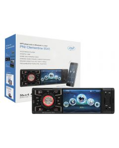 MP5 player auto PNI Clementine 9545 1DIN display 4 inch, 50Wx4, Bluetooth, radio FM, SD si USB, 2 RCA video IN/OUT