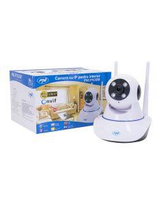 Camera supraveghere video PNI IP920W 1080P cu IP P2P PTZ wireless, slot card microSD