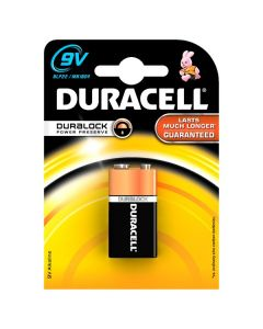 Baterie alcalina 9V Duracell Duralock cod 81427279