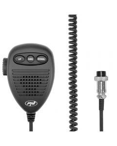 Microfon cu 6 pini pentru statie radio PNI Escort HP 8000 / 8001 / 8024 / 9000/ 9001 / 8000L / 8001L