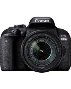Aparat Foto Canon EOS 800D cu Obiectiv 18-135mm f/3.5-5.6 IS USM Nano