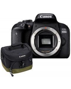 Aparat Foto Canon EOS 800D Body, Premium KIT, Include Rucsac Canon BAG300