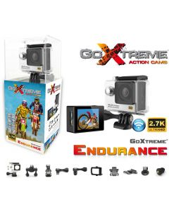 Camera Video de Actiune GoXtreme Endurance 2.7K, Instantanee 12 MPx (Include 10 Accesorii)