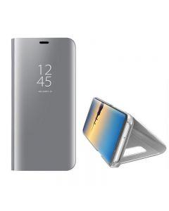 Husa Flip Stand Mirror, Samsung Galaxy Note 8, Silver