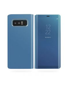 Husa Flip Stand Mirror, Samsung Galaxy Note 8, Blue